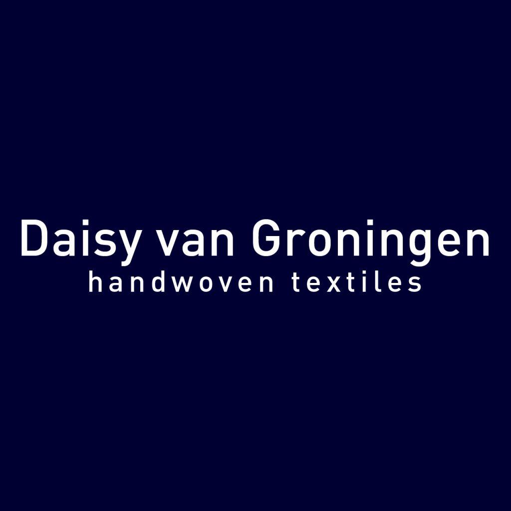 Logo Daisy van Groningen handwoven textiles