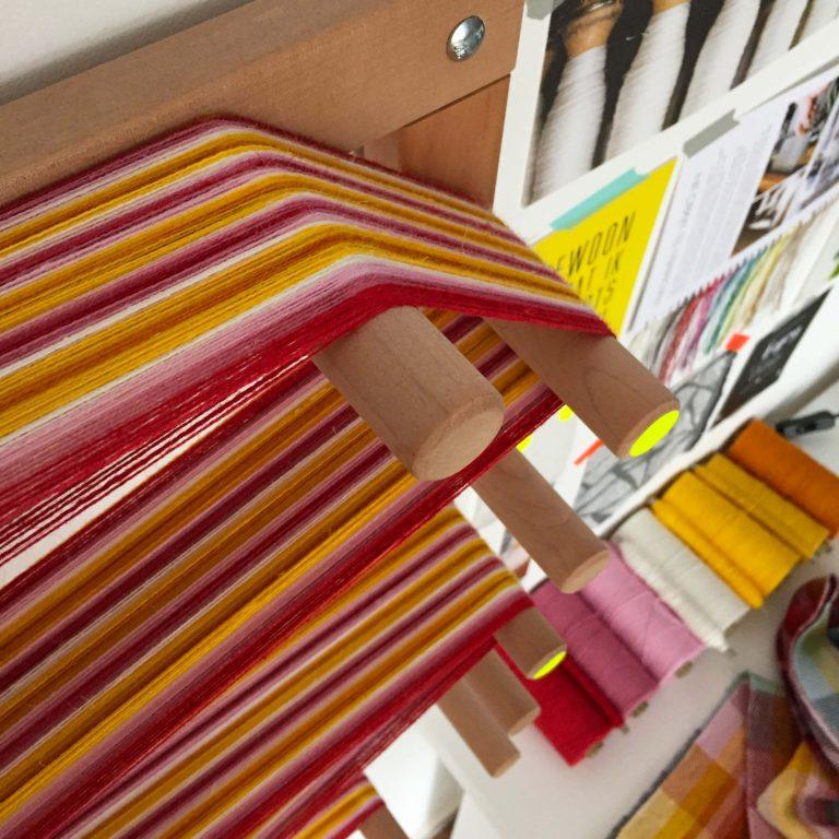 No. 21 Scarf in twill stripes