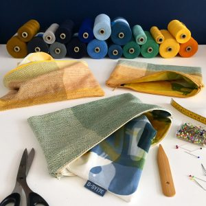 Next sewing project handwoven zipperbags