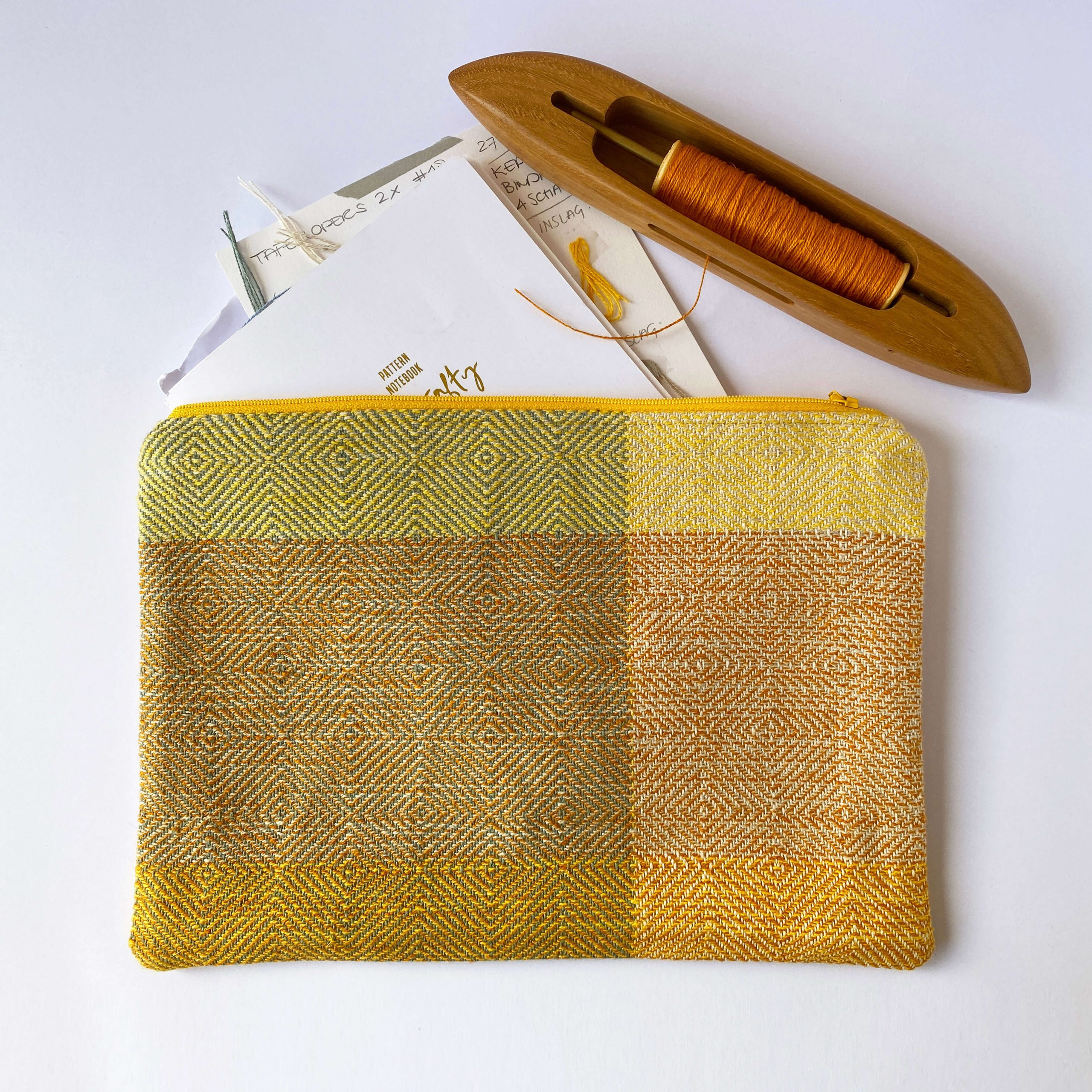 Zipperbag in point twill (12ZB)