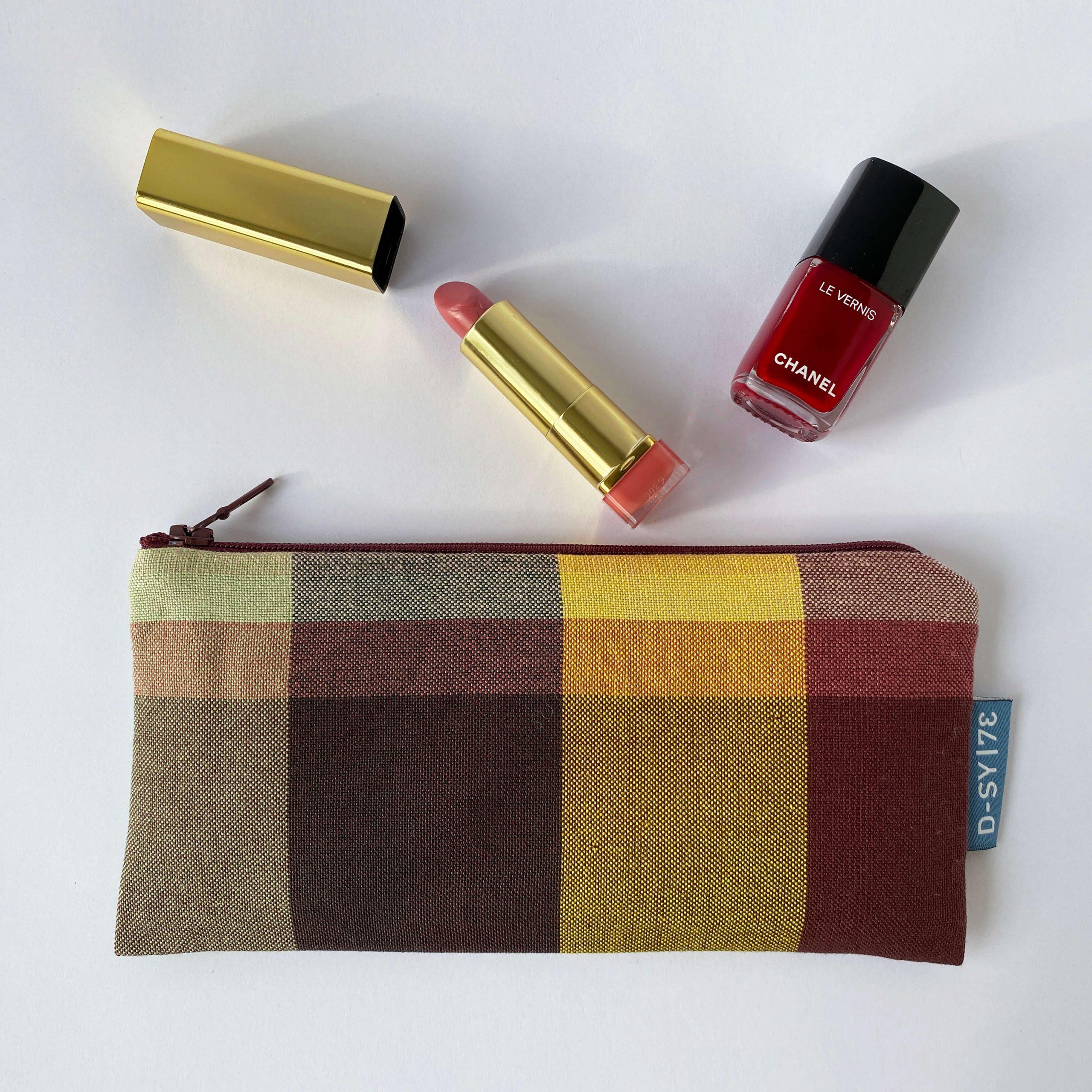 Zipperbag in plain weave (01ZB)