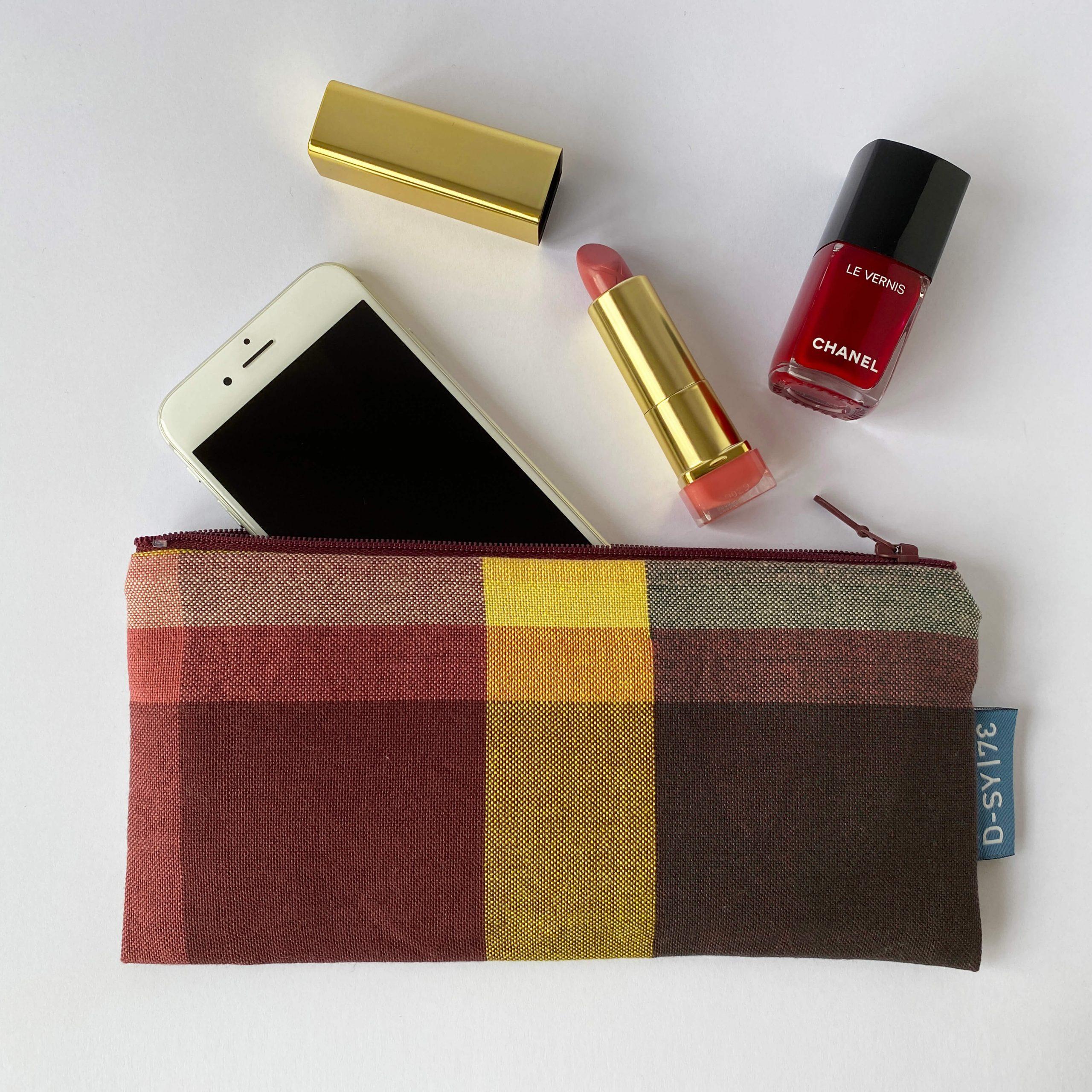 Zipperbag in plain weave (02ZB)