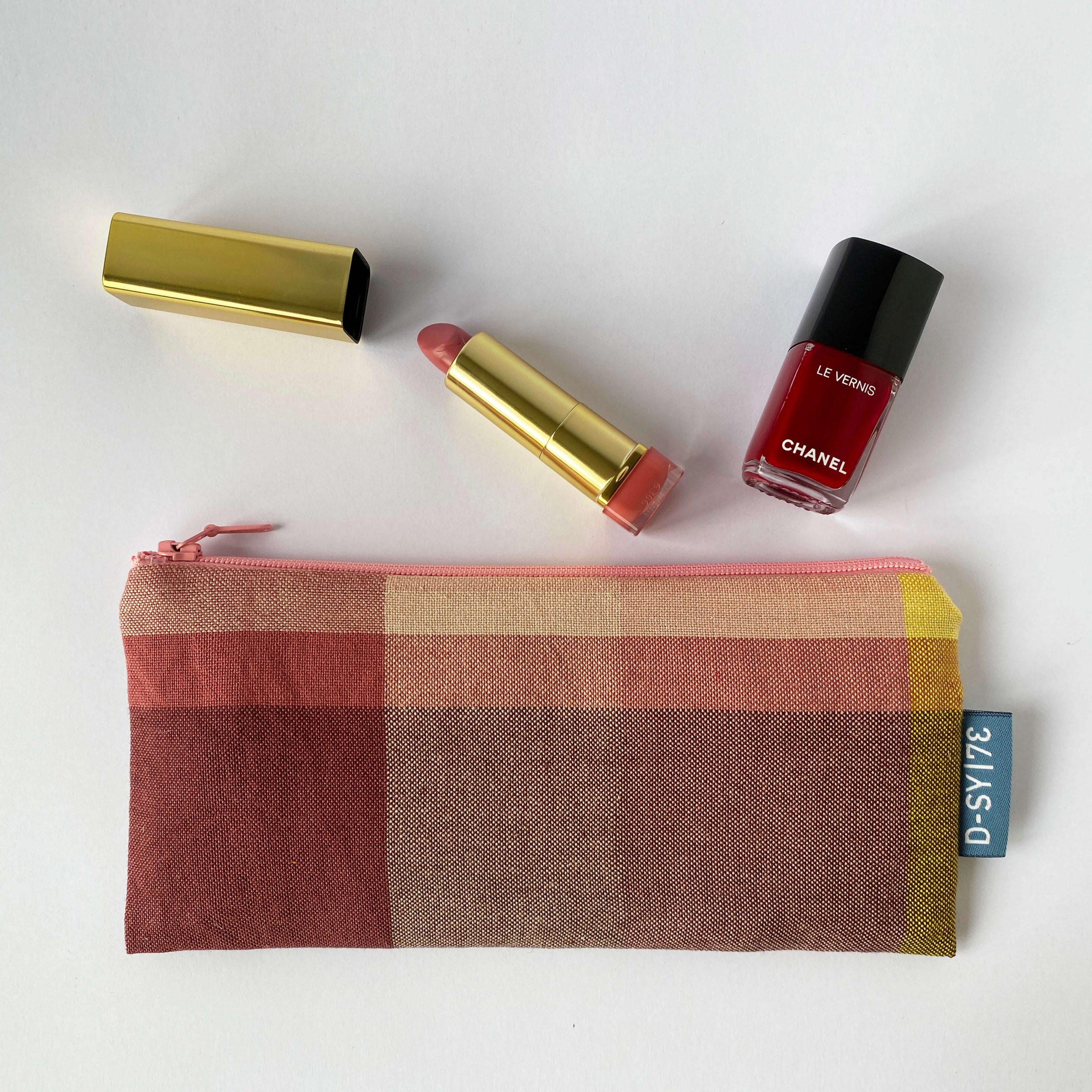 Zipperbag in plain weave (03ZB)
