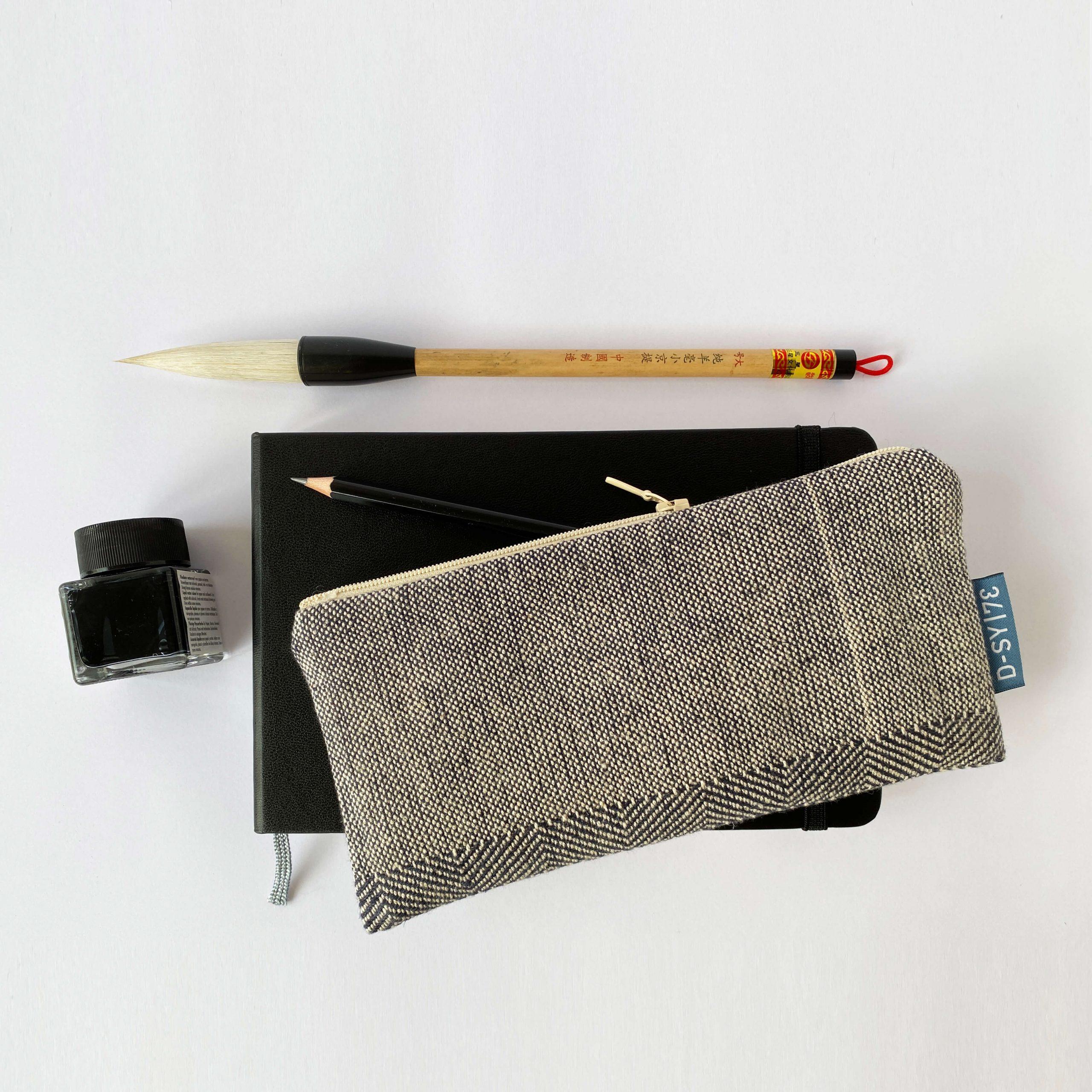 Zipperbag in point twill & plain weave (05ZB)