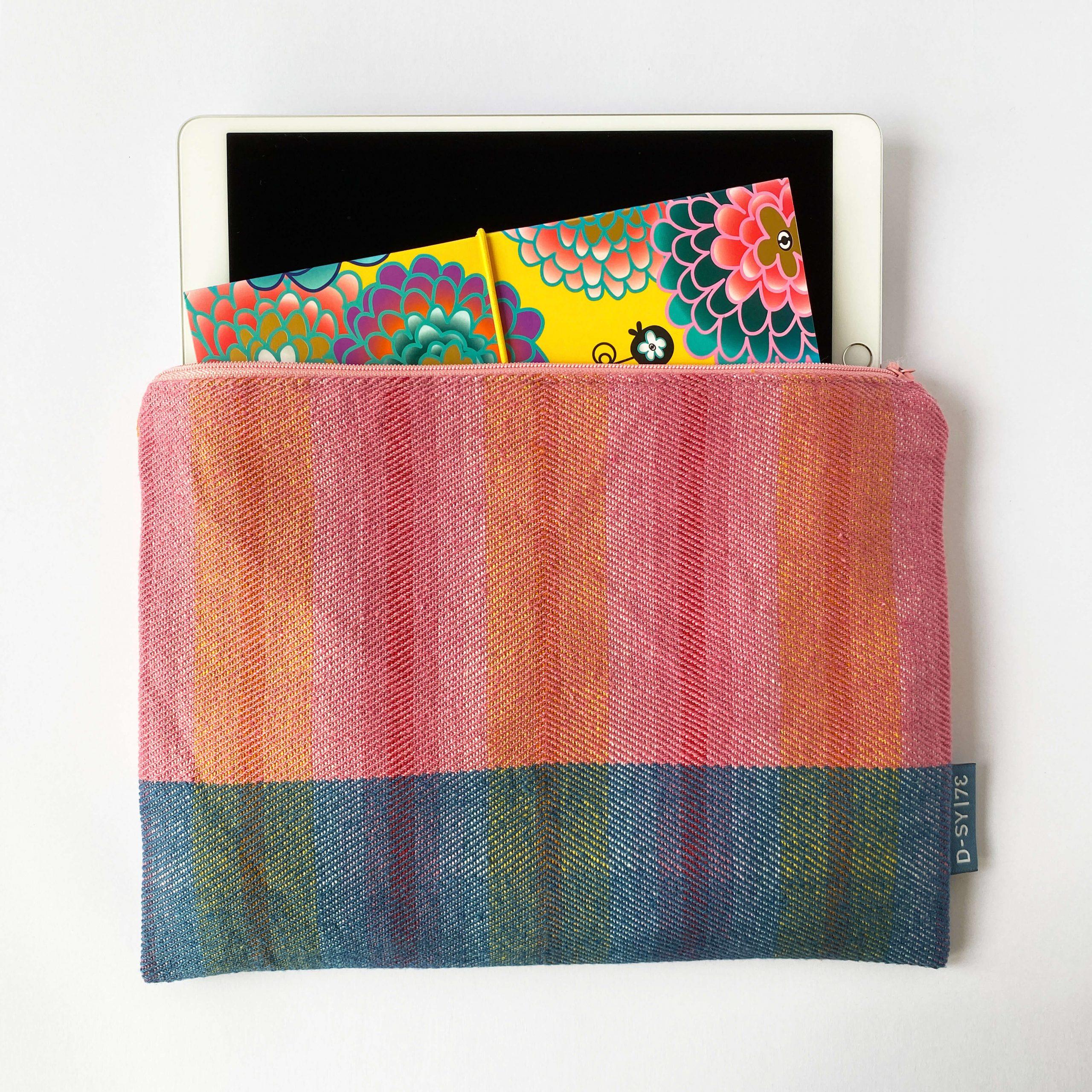 Zipperbag in twill stripe (09ZB)