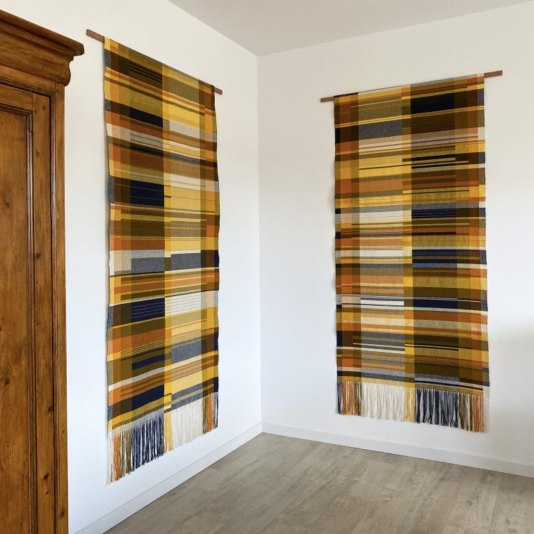 Handwoven wall hangings