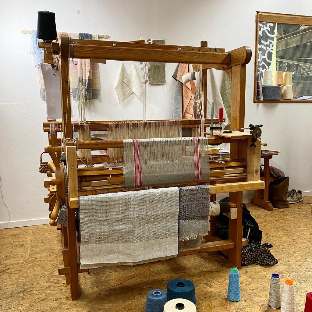 Weaving studio Eva Klee Amsterdam